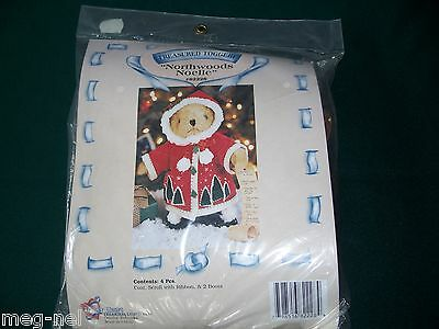 Teddy Bear Clothes Northwoods Noelle  Christmas Outfit   Trees/ Snowflakes  New