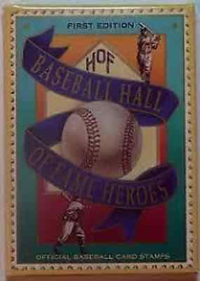 1st Edition HOF Hall of Fame Heroes Baseball Card Stamps Sealed