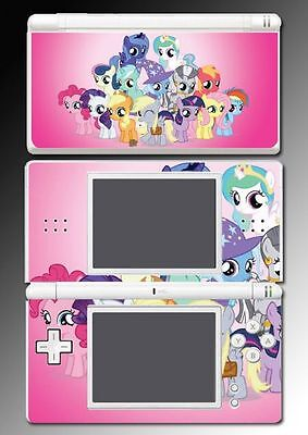 My Little Pony MLP Pinky Pie Derpy Rarity Game Skin Cover 2 for Nintendo DS Lite