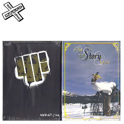 'long Story Short' Ski Dvd Skiing Film Snow Movie Level 1 Productions
