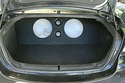 """VE and VF Holden HSV Commodore 12inch sub custom boot install 12"""" subwoofer box"""