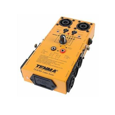 Tenma Universal Audio DMX Cable Tester (TE130)