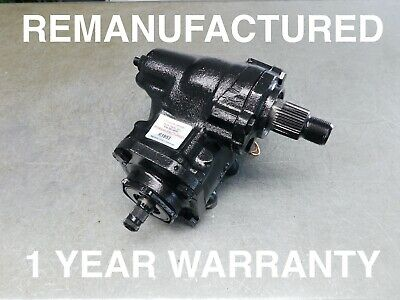 107 Power Steering Gear Box 560SL  2.75 TURNS QUICK RATIO - REMANUFACTURED