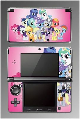 My Little Pony Friendship is Magic Rarity Game Vinyl SKIN Cover 2 Nintendo 3DS