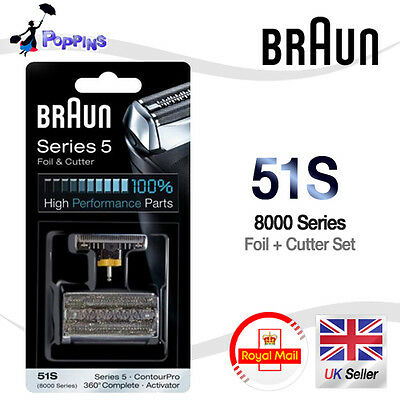 NEW Genuine BRAUN 51S 8000 Series 5 Mens Shaver CASSETTE