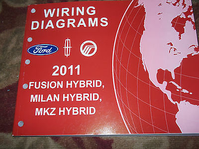 2010 FORD    FUSION         MILAN       HYBRID    Electrical Wiring    Diagram    Service Manual EWD   6999   PicClick