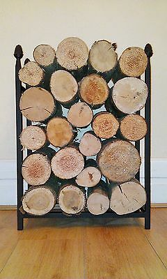 Log holder/store basket Pine Cone design the original and best