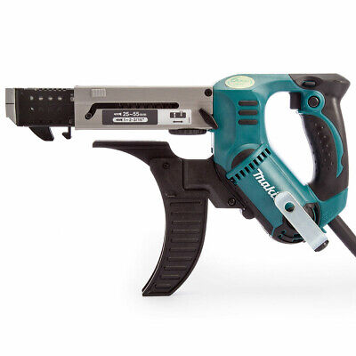 Makita 6843 55mm Auto Feed Screwdriver With Carry Case 240V