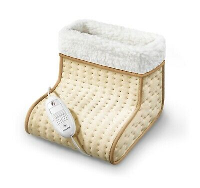 Beurer FW20 Electric Cosy Feet Foot Warmer Footwarmer Washable Relief Cold Feet