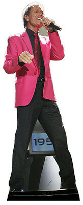 Cliff Richard LIFESIZE CARDBOARD CUTOUT STANDEE STANDUP 50th Anniversary Tour