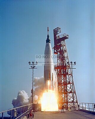 Launch Of Faith 7 (Ma-9) From Pad 14 Gordon Cooper - 8X10 Nasa Photo (Ep-185)