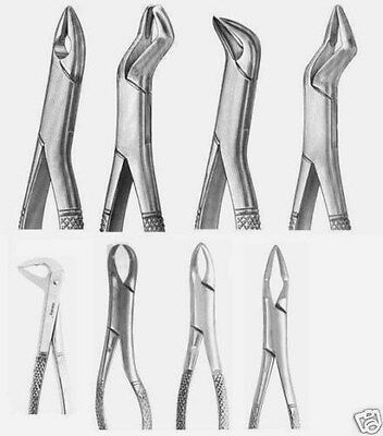 10 Extraction Set Dental Instruments Extracting forceps