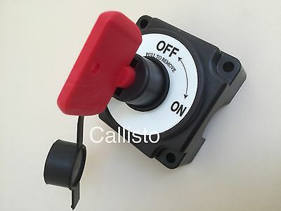 12V Marine Battery Isolator Switch 250A Boat Chandlery/Boat /Yacht/Caravan