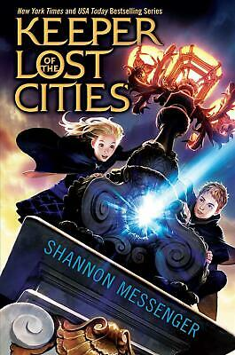Keeper of the Lost Cities by Shannon Messenger (English) Hardcover Book Free Shi
