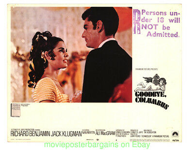 GOODBYE, COLUMBUS LOBBY CARD size 11x14 Inch MOVIE POSTER Card #4 ALI MacGRAW 69