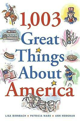 1,003 Great Things about America by Lisa Birnbach (English) Paperback Book Free