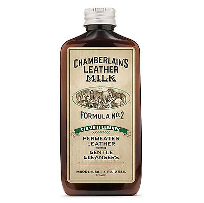 Straight Cleaner No. 2 – Premium Leather Cleaner - 6 Oz