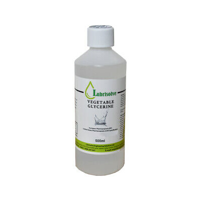 VEGETABLE GLYCERINE EP/USP FOOD/COSMETIC GRADE - 500ml