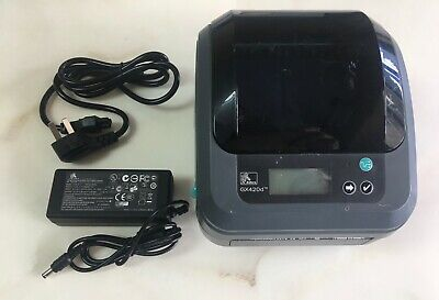 Zebra LP2844 Thermal Printer UPS LP2844 TAG Barcode Label with USB AC Power