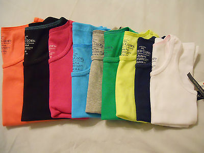 Girls Tank Top Shirts Solid Cami Solid NEW Children