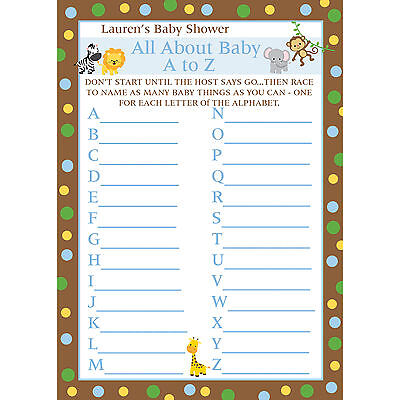 24 Baby Shower Maze Game Cards Ahoy Its A Boy 1599 Picclick