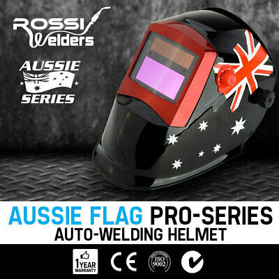 NEW ROSSI Solar Auto Darkening Welding Helmet MIG/ARC/TIG Welder Machine Mask