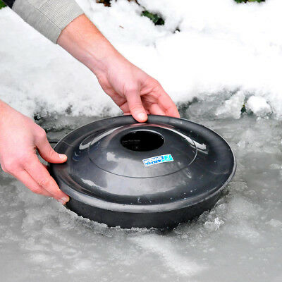 Hozelock Floating Dome Fish Pond Heater De Icer Winter Goldfish Protect Ice