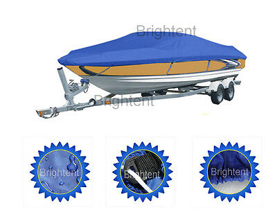 Universal 20ft to 22ft Length Trailer Fishing Ski Boat Cover Waterproof GBT3N