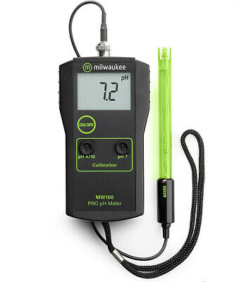 Milwaukee MW100 Low Cost Portable pH Tester/Meter