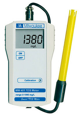 Milwaukee MW401 TDS Meter With 1 Point Manual Calibration