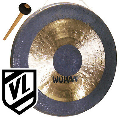 "Wuhan 26"" Chau Gong with Mallet Beater WU007-26 - Deep Rich Powerfull Tone"