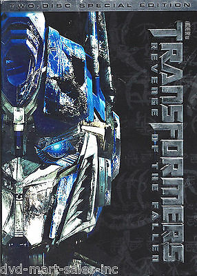 Transformers: Revenge of the Fallen (DVD, 2009, 2-Disc Set, Special Edition) New