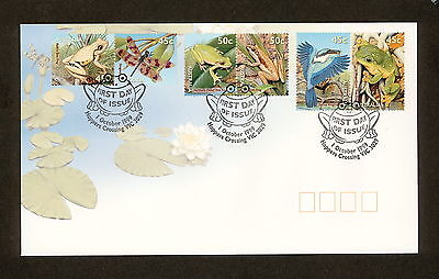 1999 FDC1912 SMALL POND LIFE 3 x SE TENANT PAIRS First Day Cover
