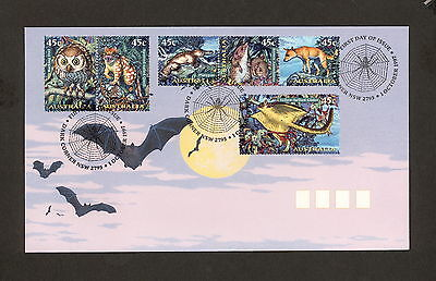 1997 FDC1718 CREATURES OF THE NIGHT First Day Cover