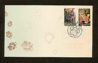1996 FDC1653 PETS PEEL & STICK First Day Cover