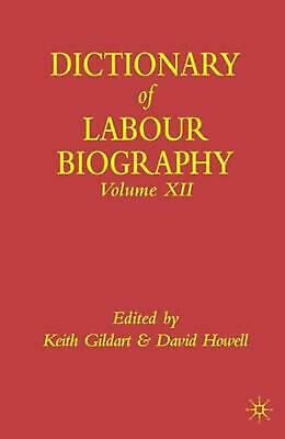 NEW Dictionary of Labour Biography by Hardcover Book (English) Free Shipping