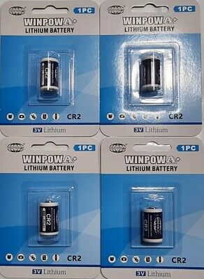 Cr2 Lithium Battery X 4 Batteries 3V Replacement High Quality For Digital Camera