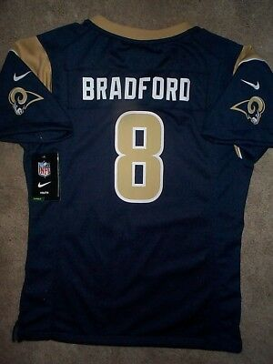 90485dc2 MEN'S NEW NIKE Los Angeles Rams Sam Bradford Jersey L 23.5 x 30 ...