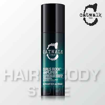 CURLS ROCK AMPLIFIER TIGI catwalk curlesque crema modellante capelli ricci 150ml