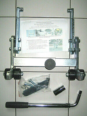 stabiler Lifter BMW R1200S Heber Montage Ständer sturdy garage center stand new
