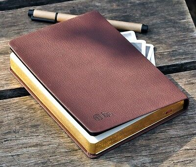 Vintage PU leather classic notebook blank diary journal Retro note book