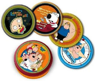 Family Guy Coaster Set In Tin Series 1 Peter Stewie Brian Chris New Sealed