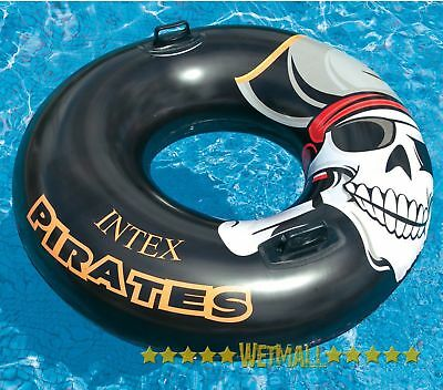 Pirate Tube Inflatable Water Swimming Pool Float Raft Lounger