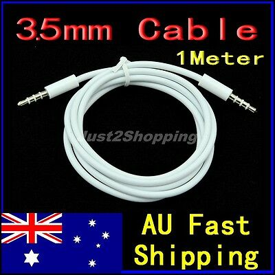 3.5mm Male to Male Stereo Audio Auxiliary Cable Mp3 Mobile phone