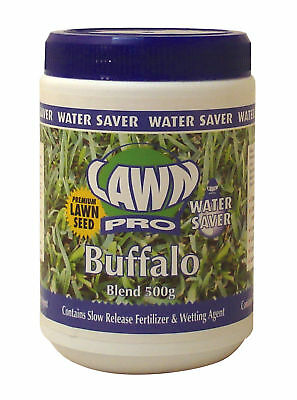 Lawn Pro Buffalo lawn seed a water saver for your garden 500gm covers 50sqm