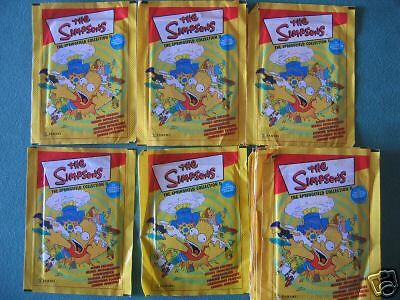 """""""the Simpsons The Springfield.."""" Panini 2000 25 Bustine"""