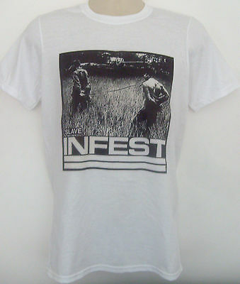 Infest T-shirt Negative Approach and Negative FX straight edge lungfish fear