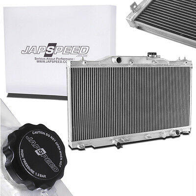 Japspeed Aluminium Alloy Race Radiator Rad For Honda Integra Dc5 Type R 01-05