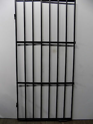 Steel security door /gate /grill  With two locking points grill made in the UK