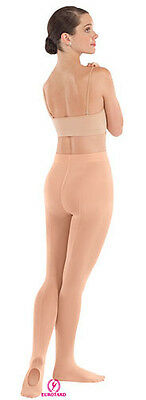 New Euroskin Dance Back Seam Convertible Tights Childs & Adult (Multiple Colors)